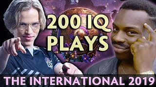 200 IQ plays that changed the course of The International 2019
