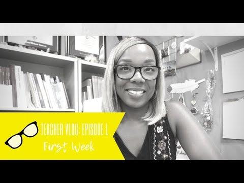 Teacher Vlog | Episode 1: First Week