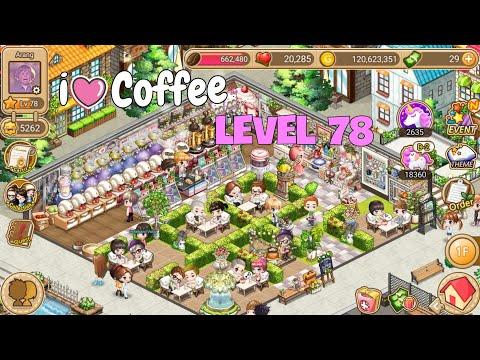 LINE I Love Coffee - Level 78