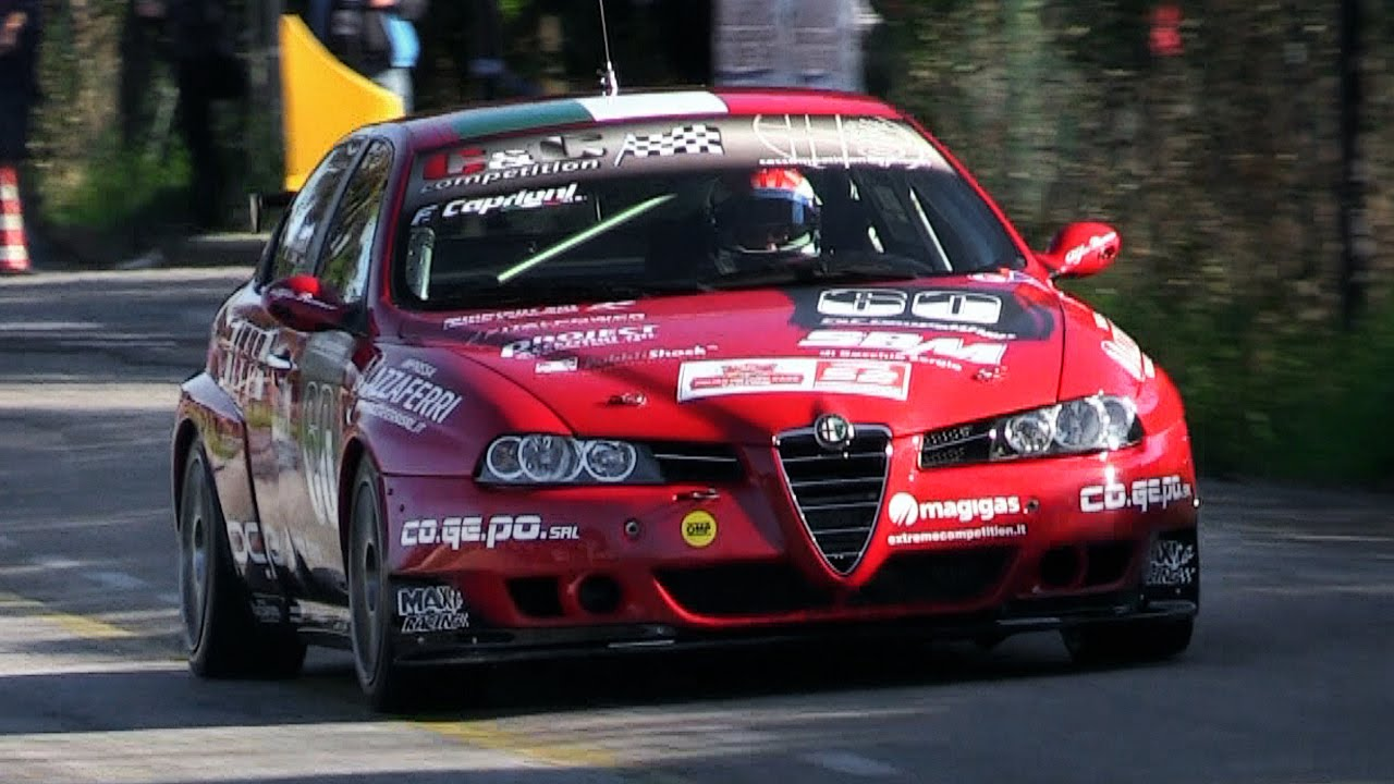 Alfa Romeo 156 Wtcc S2000 Sound In Action Around A