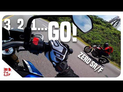 Zero SRF vs GSXS 750  Is it REALLY faster?