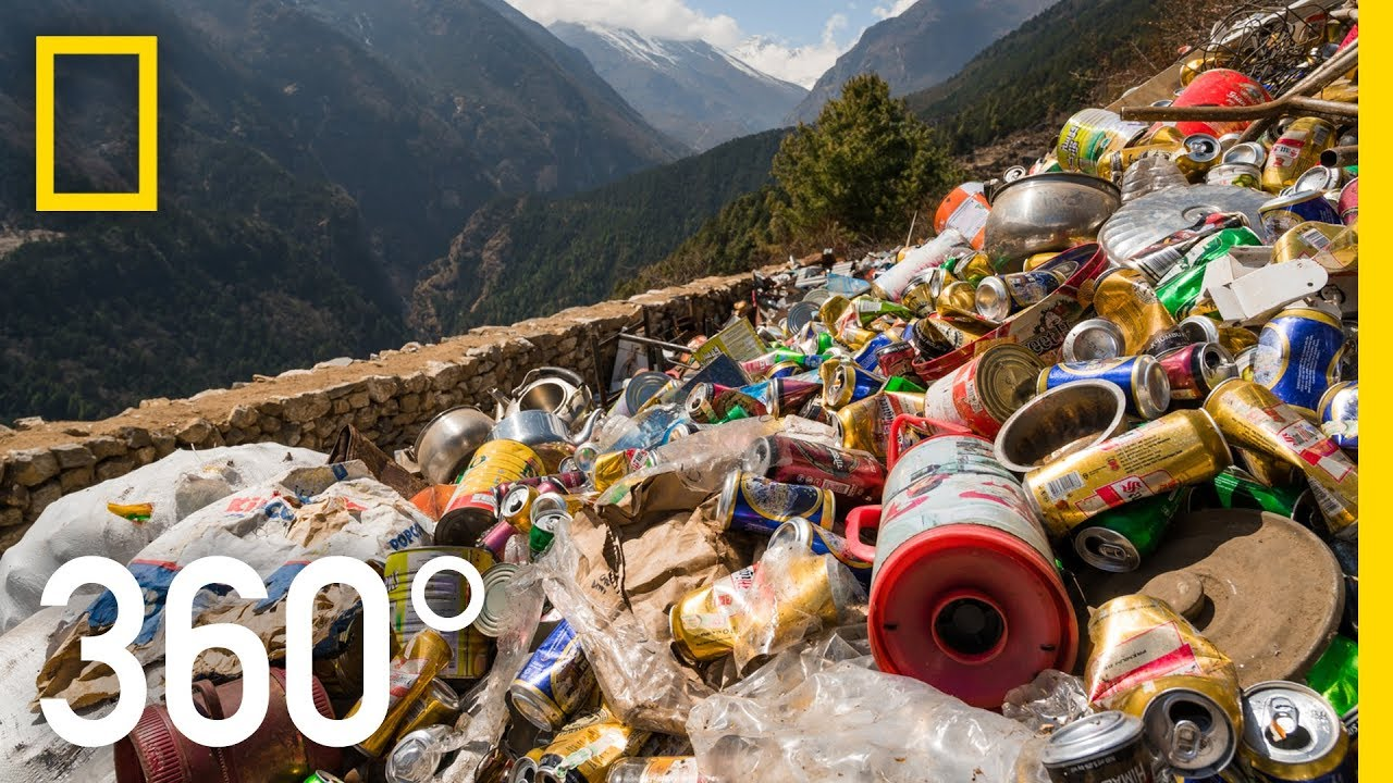 Clearing Everests Trash - 360 | National Geographic