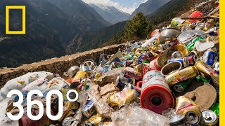 Clearing Everest's Trash - 360 | National Geographic