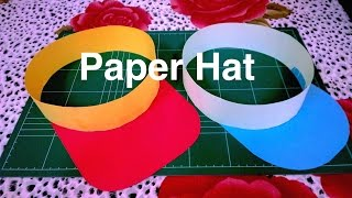 How to make paper hat / DIY