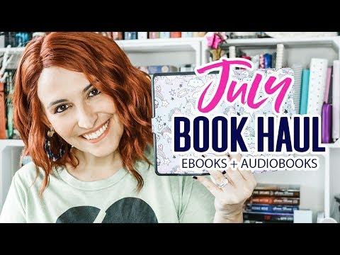 July Digital Book Haul | EBooks + Audiobooks