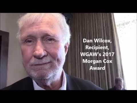 Morgan Cox Award Recipient Dan Wilcox  at the Writers Guild Awards
