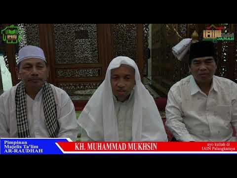 ALHAMDULLILLAH Guru Mukhsin Dukung IAIN Palangka Raya