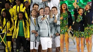 5 Best Uniforms From the 2016 Rio Olympics Opening Ceremony