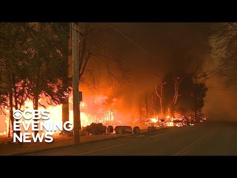 Evacuation orders lifted in Paradise, California