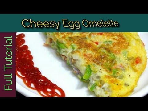 Cheese Omelette Recipe|Cheese Omelette Recipe In Urdu ...