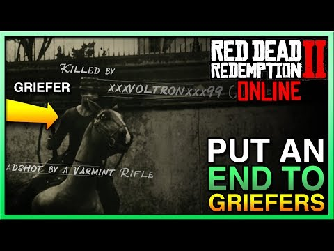 HOW TO MAKE GRIEFERS RAGE QUIT in Red Dead Redemption 2 Online! STOP RDR2 Online Griefers Now! RDR2 thumbnail