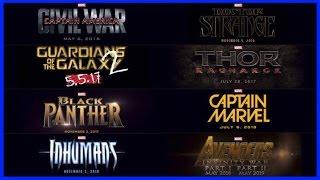 Фильмы по комиксам Marvel до 2019 года