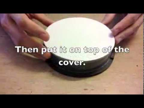 How to make a simple manual Display Turntable for video shooting.