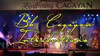 Bb. Cagayan 2014 - Introductions