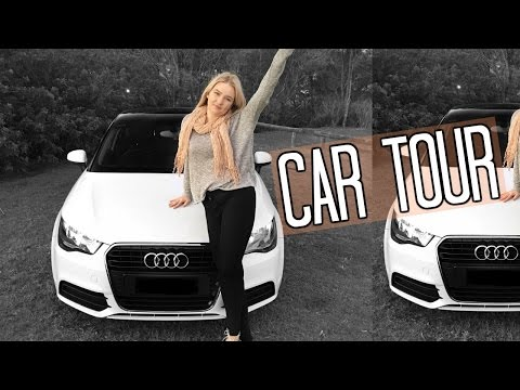 CAR TOUR | Whats in my Audi A1 ♡ Tobie Jean