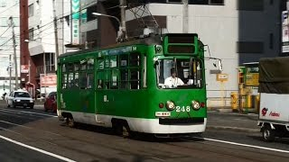 【北海道へ2015夏 vol.10】 札幌 路面電車 現在ループ化工事中
