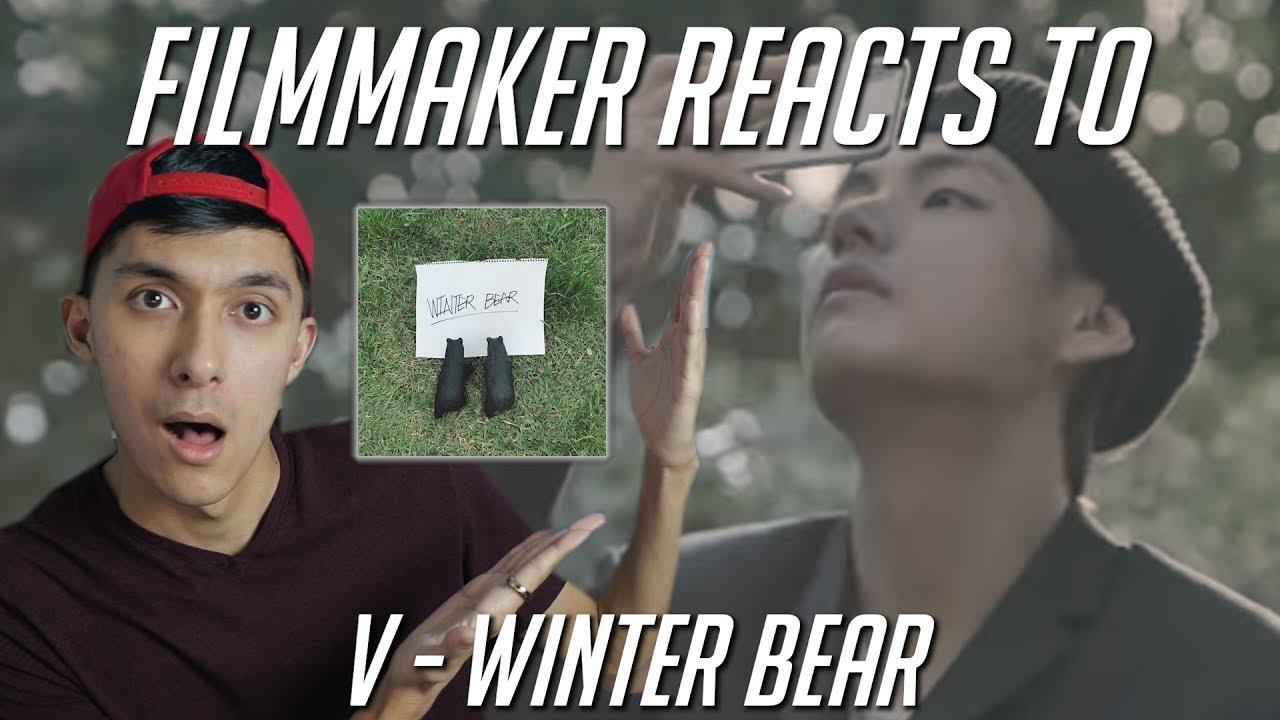 filmmaker reacts to winter bear by v of bts youtube. Black Bedroom Furniture Sets. Home Design Ideas
