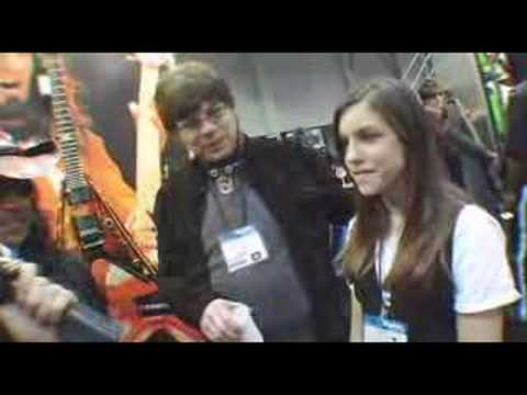 Elliot Easton From THE CARS At Dean Guitars NAMM 2008