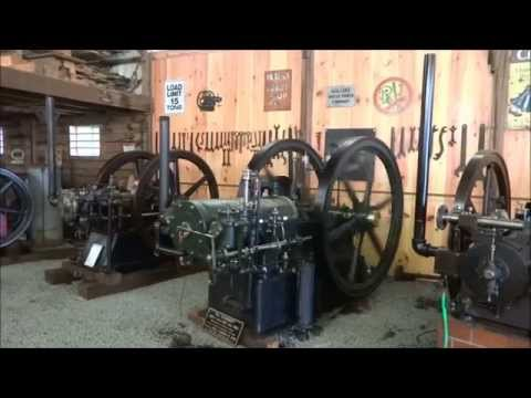 Whately Engine Museum Show 2015 Sights and Sounds