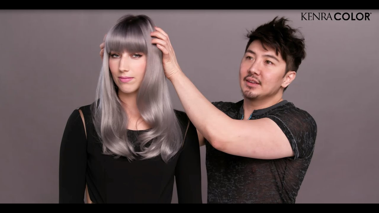 How To Create Guy Tangs Favourite Grey Kenra Professional