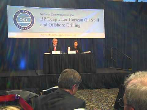 BP Oil Spill Commission Meeting