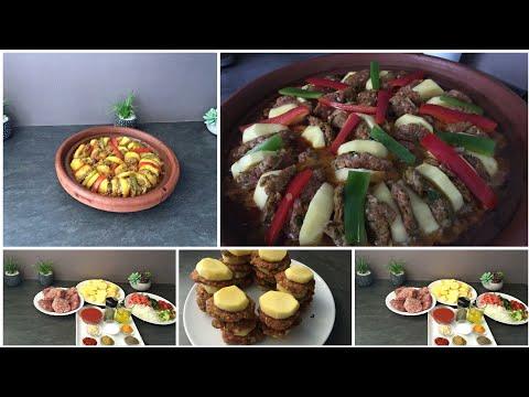 recette-rif//-tajine-kefta-pomme-de-terre(-je-teste-le-tajine-pour-voir-s'il-est-bien-réparé)