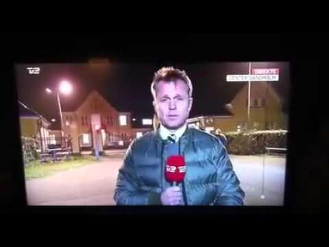 TV2 Denmark LIVE, immigrant threatens journalist ...