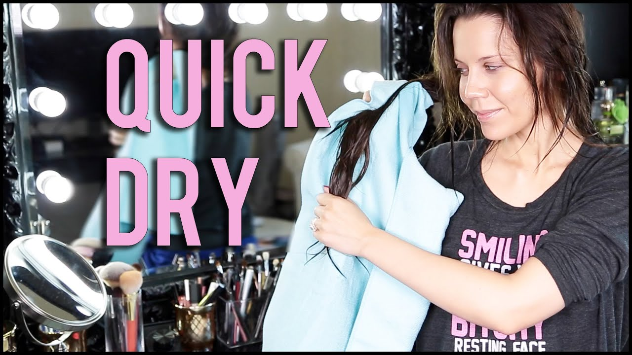 How to quickly dry your hair without a hair dryer Impose beauty in emergency conditions 54