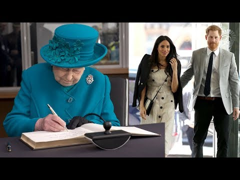 Here's why the Queen changed royal RULE books for Meghan beginning her royal life