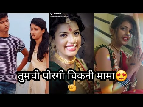New Marathi Full Comedy TikTok Famous Videos Ep99