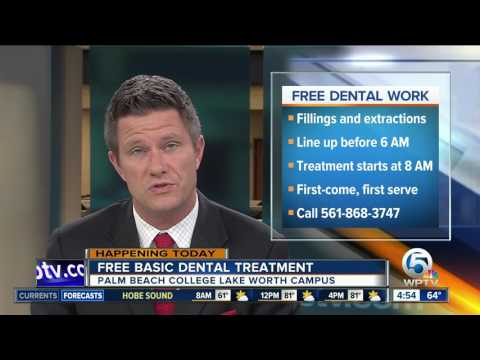 Free basic dental treatment at Palm Beach State College in Lake Worth