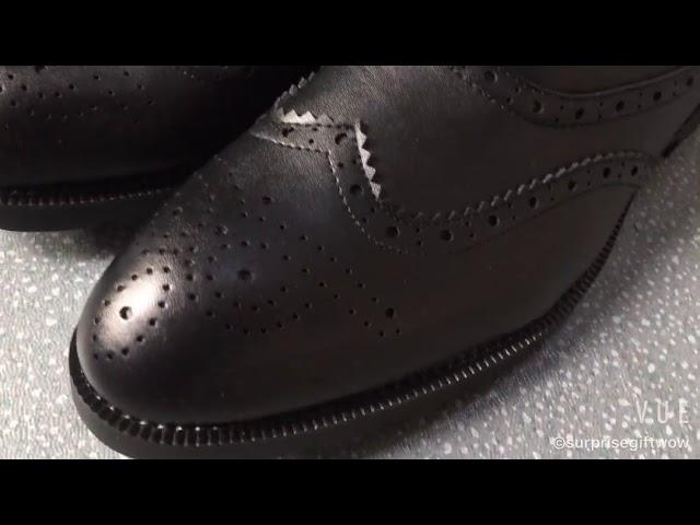 6e38ceb034 Sapato Masculino Social Marrom Envernizado com Cadarço.