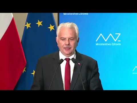 Download Konferencja prasowa ministra zdrowia Adama Niedzielskiego oraz wiceministra Waldemara Kraski