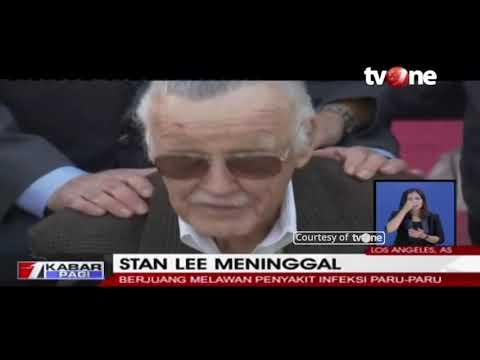 Stan Lee Pencipta Karakter Marvel, Meninggal Dunia