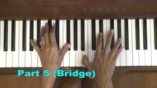 U Remind Me Usher Piano Tutorial