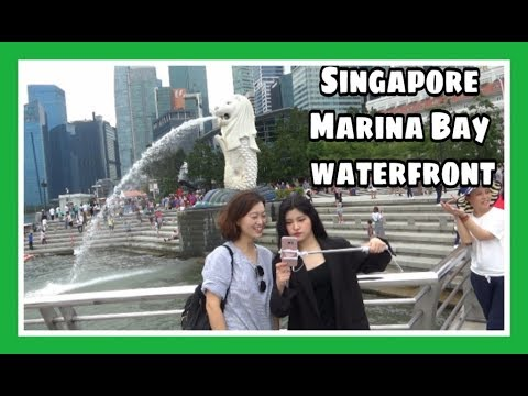 Singapore Marina Bay Waterfront | Singapore Travel Vlog  | 25N18