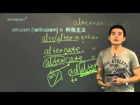 托福詞彙10000字 - 3之 3 單詞講解3