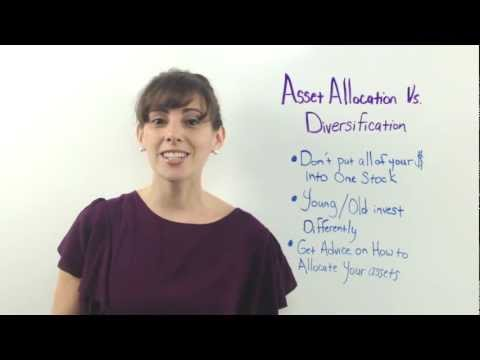 Asset Allocation vs. Diversification