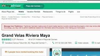 TripAdvisor now warning about problem hotels