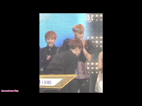 130616 EUNJI MOMENT with BAEKHYUN&TAO!! - YouTubeEunji And Baekhyun