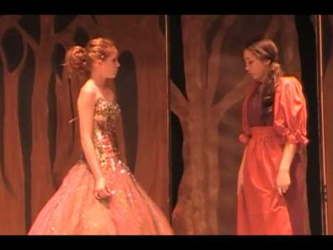 "Shannon Layburn as Cinderella ""Into the Woods"" ""It's A Very Nice Ball"""