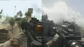 Modern Warfare Wii versus PS4 Comparison (MWR vs. MWR)