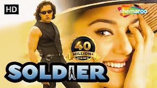 Soldier (HD) | Bobby Deol | Preity Zinta | Johnny Lever | Bollywood Hindi Full Movie