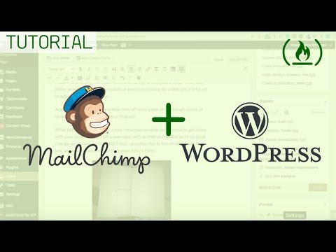 Setting up MailChimp on WordPress with plugins