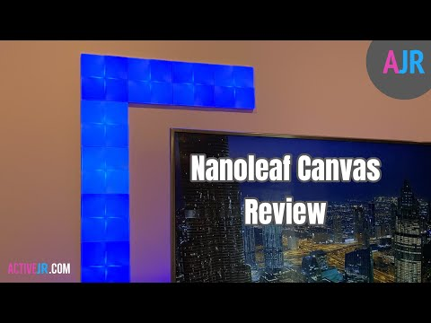 Nanoleaf Canvas Review - Setup, Walkthrough And Review - Smart HomeKit Lights