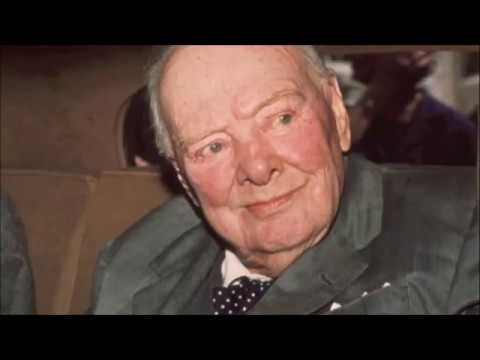 Sir Winston Churchill - Funeral (I Vow To Thee) - We Shall Fight on the Beaches