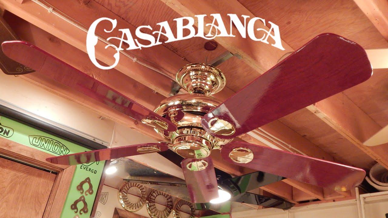 Casablanca Metropolitan Ceiling Fan