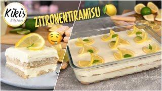 REZEPT: Zitronentiramisu mit einer Geheimzutat 😍 Fruchtiges Tiramisu einfach und lecker