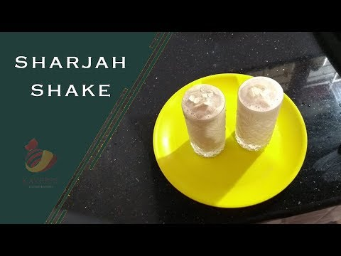 Sharjah Shake Recipe// Indian Banana Milk Shake/Home Made Crispy Sharjah Shake//Episode:04