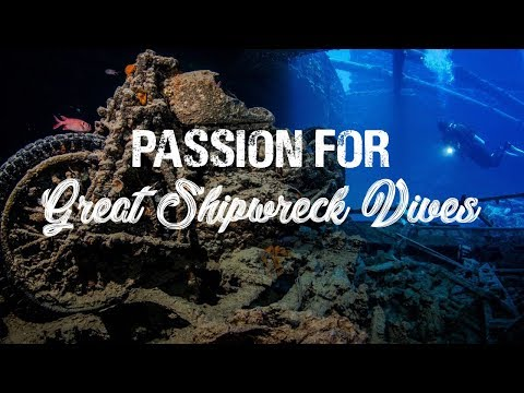 Passion for Great Shipwreck Dives
